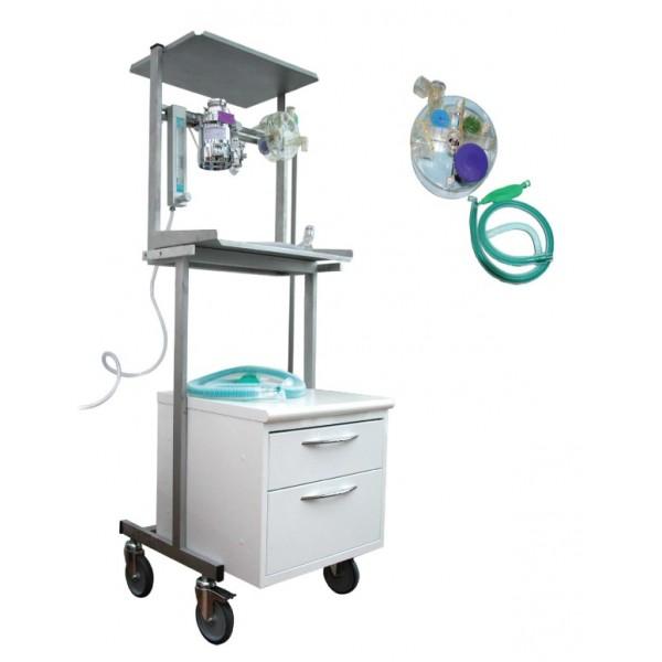 appareil d anesth sie complet sur chariot multi fonction avec cuve isoflurane tec 4 vtcare. Black Bedroom Furniture Sets. Home Design Ideas